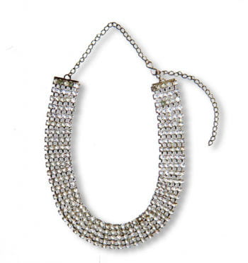 Strass Collier Million Dollar
