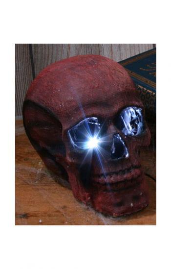 Strobe Light Skull Red