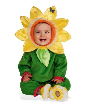 Süßes Sonnenblumen Kostüm für Kinder