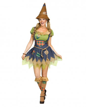 Sweet Scarecrow Girl Adult Costume
