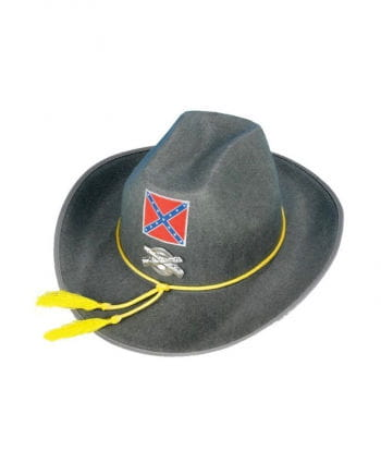 Southerners soldiers hat gray