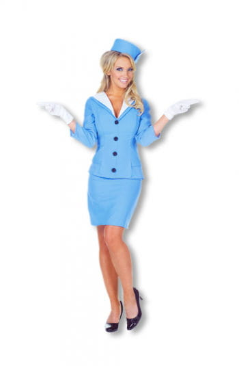 Süße Flugbegleiterin Kostüm