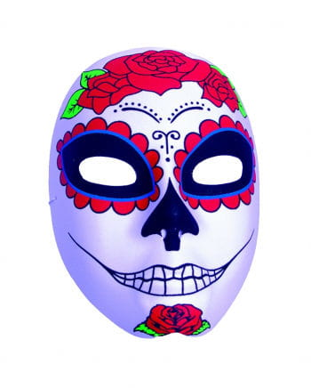 """""""Day Of The Dead"""" Catarina Mask With Roses"""