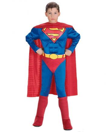 Superman Kinderkostüm mit Muskel Brustpanzer