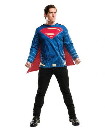 Superman Shirt mit Cape für Erwachsene