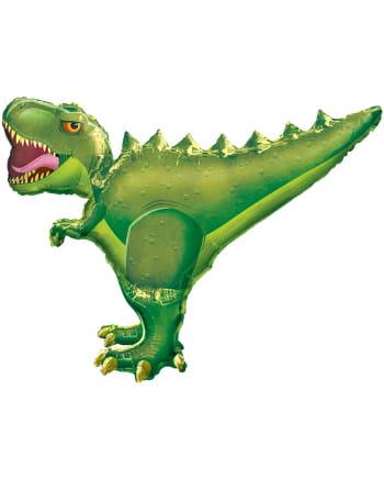 T-Rex Folienballon grün XXL