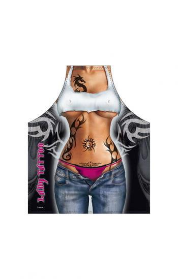 Tattoo Girl Schürze
