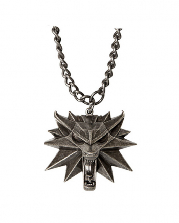 The Witcher Wild Hunt Medallion With LED Eyes