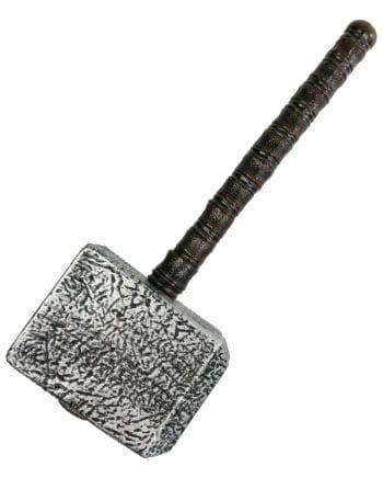 Thor's Hammer silberfarben