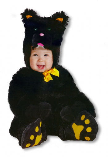 Little black cat costume Large