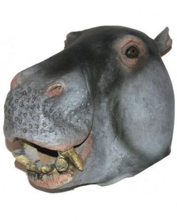 Tiermaske Nilpferd