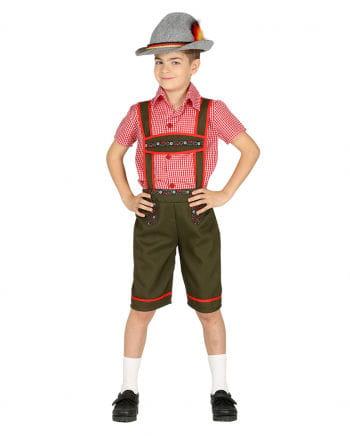Tyrolean Boy Costume For Children