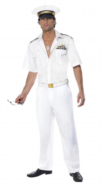 Top Gun Kapitäns Kostüm für Herren