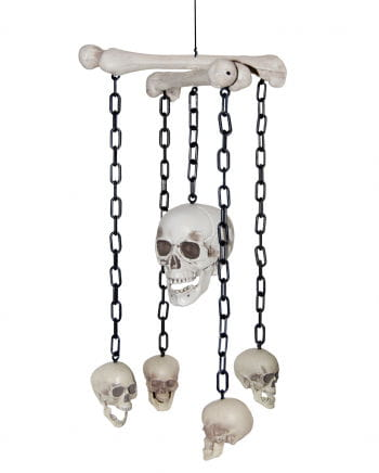 Skull head mobile