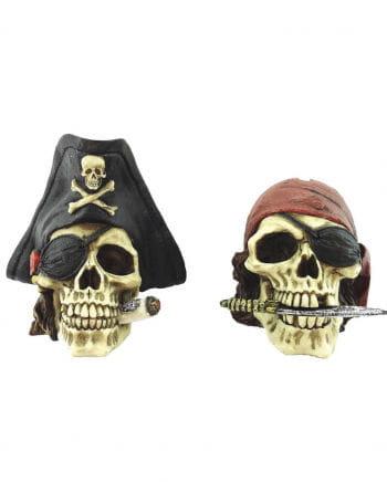 Skulls Pirates Spardose Set of 2