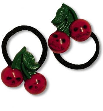 Cherry Skull Hair Bands