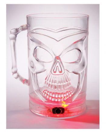 Skull Beer Jug with LED Color Changer