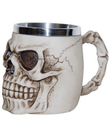 Dead skull jug - bone colored
