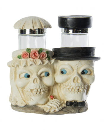 Mortal Salt And Pepper Bridespaired Couple