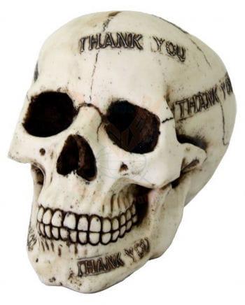 "Dead Skull Spardose ""Thank You"""