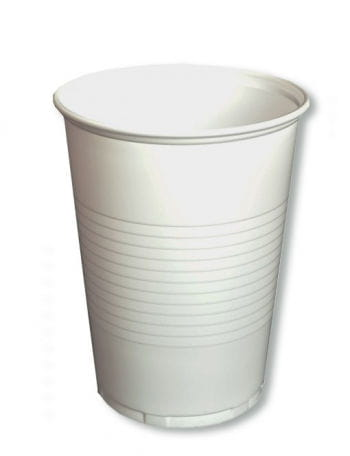 Trinkbecher weiß 50 ST. 0,4 l