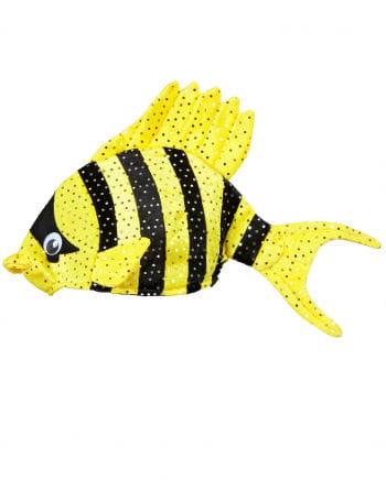 Tropischer Fischhut Gelb