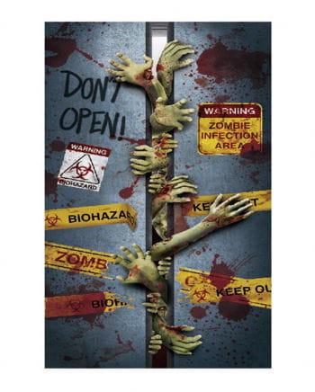 Halloween Door Film - Zombies In The Lift