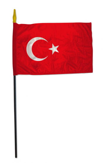 Stock Flag TURKEY