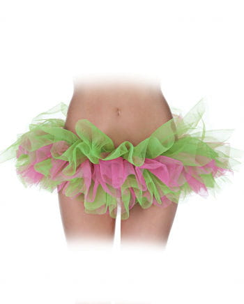 Ballett Tutu pink/grün