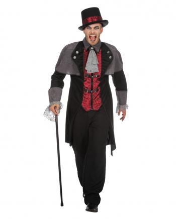 Vampir Herren Kostüm-Mantel