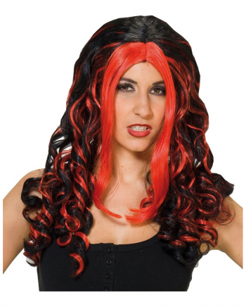 Vampire-Wig red-black