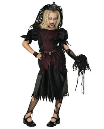 Vampir Witwe Kinderkostüm