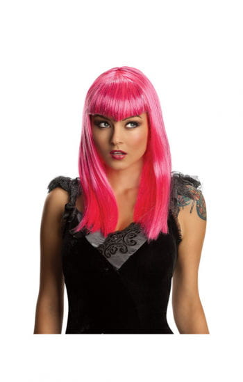 Vampir Glitter Perücke pink