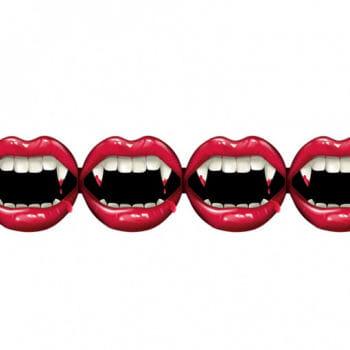 Vampir-Biss Girlande