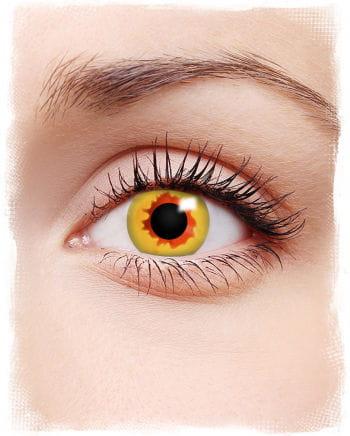 Vampir Kontaktlinsen gelb