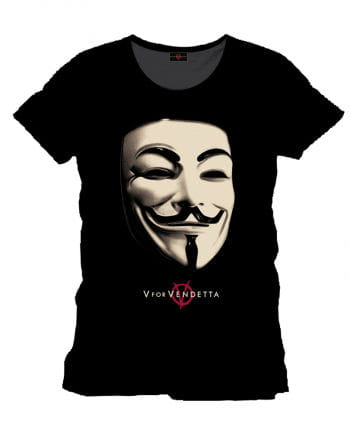 Vendetta T-Shirt Anonymous