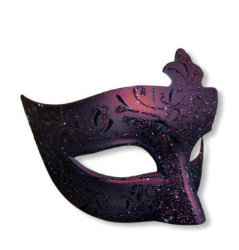 Venetian Mask Black / Red
