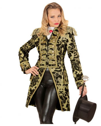 Venetian ladies dress suit gold-black