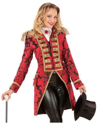 Venetian ladies dress coat red and gold