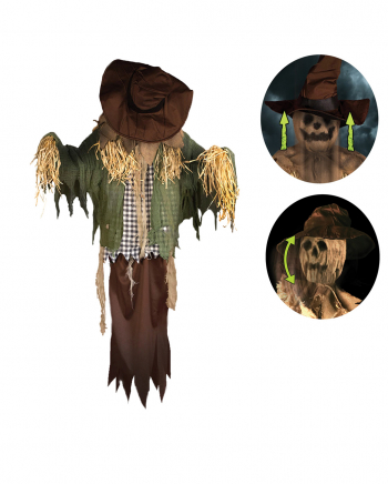 Cursed Scarecrow With Movement And Sound