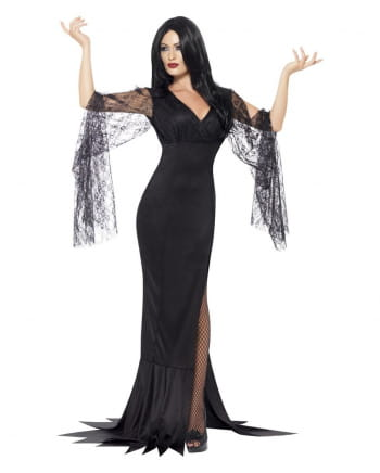 Seductive Morticia dress