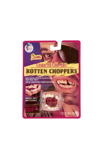 Verrottende Zahnleiste