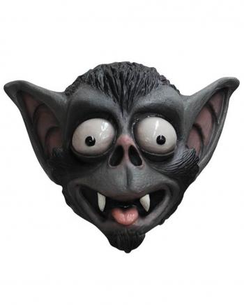 Verrückte Fledermaus Latex Maske