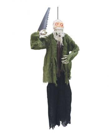 Verrückte Mumie mit Säge
