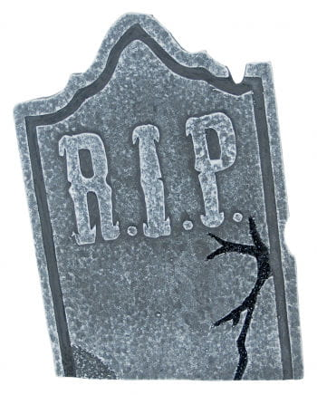 Weathered Halloween tombstone pointed