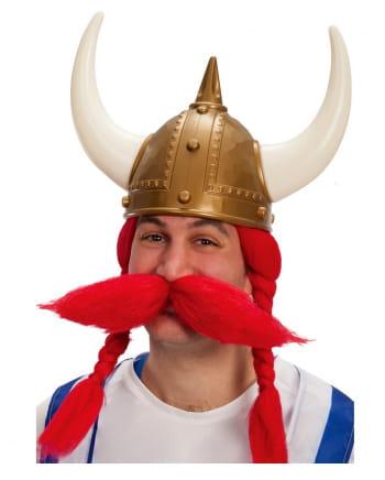 Goldener Wikinger Helm