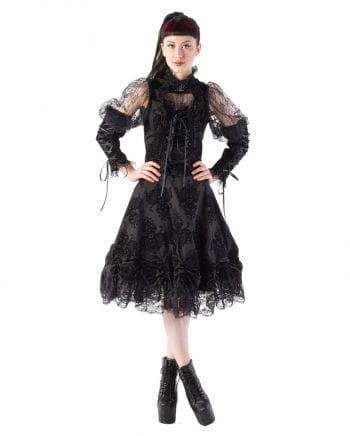 Knee-length lace skirt Kiara