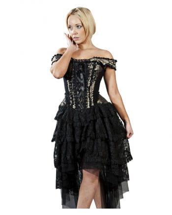 Burleska Brokat Kleid Ophelie | Gothic Kleid | Corsagenkleid ...