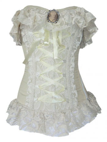 Victorian Corset with brooch