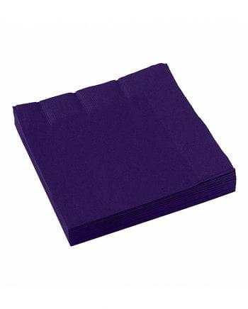 Violet napkins 20 pcs.